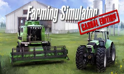 Screenshots of the Farming Simulator for Android tablet, phone.