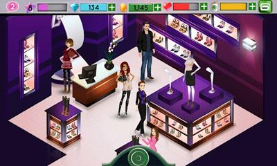 Screenshots of the Fashion Icon for Android tablet, phone.