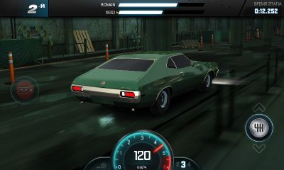 Screenshots of the Fast & Furious 6 The Game for Android tablet, phone.