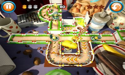 Screenshots of the Fibble - Flick 'n' Roll for Android tablet, phone.