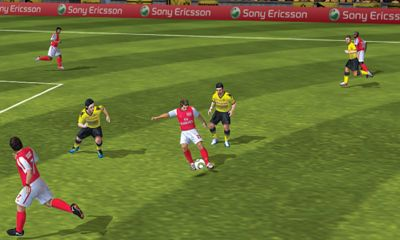 FIFA 12 - Android game screenshots. Gameplay FIFA 12.