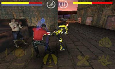 Screenshots of the Fighting Tiger 3D for Android tablet, phone.