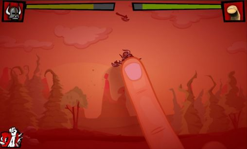 Screenshots of the Finger vs axes for Android tablet, phone.