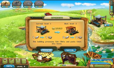Screenshots of the Fisher's Family Farm for Android tablet, phone.