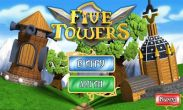 In addition to the game Shredder Chess for Android phones and tablets, you can also download Five Towers for free.