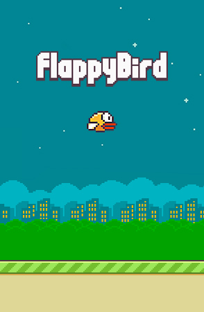 Screenshots of the Flappy bird for Android tablet, phone.