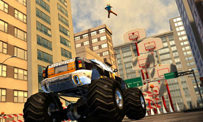 Screenshots of the Flatout - Stuntman for Android tablet, phone.