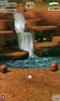 Screenshots of the Flick Golf Extreme for Android tablet, phone.
