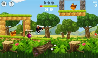 Screenshots of the Flying Fox for Android tablet, phone.