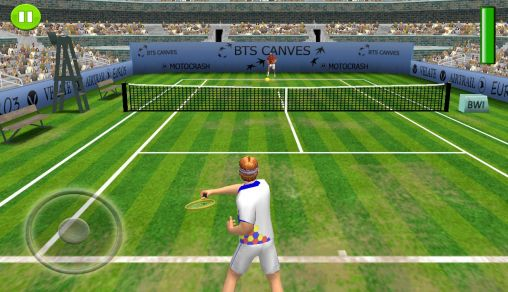 Screenshots of the FOG Tennis 3D: Exhibition for Android tablet, phone.