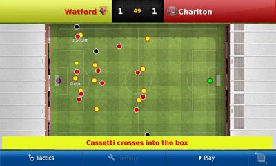 Screenshots of the Football Manager Handheld 2013 for Android tablet, phone.