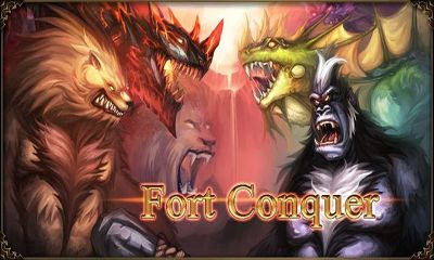 Screenshots of the Fort Conquer for Android tablet, phone.
