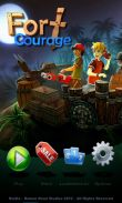In addition to the game Cartoon Wars for Android phones and tablets, you can also download Fort Courage for free.
