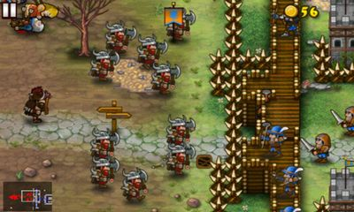 Screenshots of the Fortress Under Siege for Android tablet, phone.