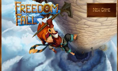 Screenshots of the Freedom Fall for Android tablet, phone.
