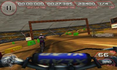 Screenshots of the Freestyle Dirt bike for Android tablet, phone.