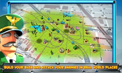 Screenshots of the Friendly Fire! for Android tablet, phone.
