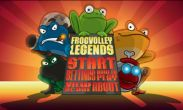 In addition to the game Judge Dredd vs. Zombies for Android phones and tablets, you can also download Frog Volley beta for free.