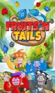 In addition to the game Hugo Retro Mania for Android phones and tablets, you can also download Fruits'n Tails for free.