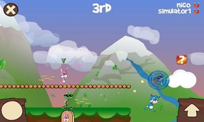 Screenshots of the Fun Run - Multiplayer Race for Android tablet, phone.