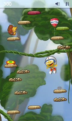 Screenshots of the Funny Bounce for Android tablet, phone.
