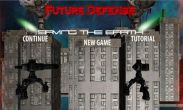 In addition to the game Real Football 2013 for Android phones and tablets, you can also download Future Defense for free.