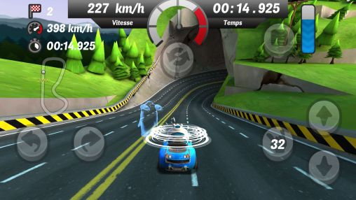 Screenshots of the Gamyo Racing for Android tablet, phone.