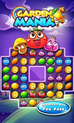 Screenshots of the Garden Mania for Android tablet, phone.