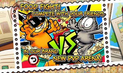 Screenshots of the Garfield's Defense 2 for Android tablet, phone.