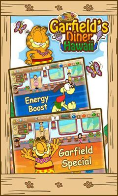 Screenshots of the Garfield's Diner Hawaii for Android tablet, phone.