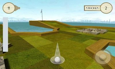 Screenshots of the Gatsby Golf for Android tablet, phone.