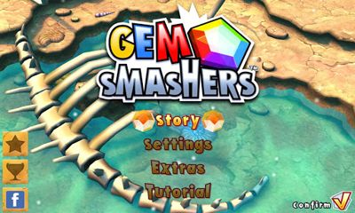 Screenshots of the Gem smashers for Android tablet, phone.