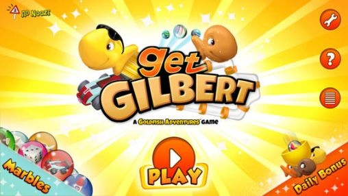 Screenshots of the Get Gilbert for Android tablet, phone.