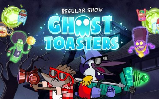 Screenshots of the Ghost toasters: Regular show for Android tablet, phone.