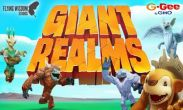 In addition to the game Pet Rescue Saga for Android phones and tablets, you can also download Giant Realms for free.