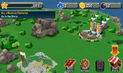 Giant Realms - Android game screenshots. Gameplay Giant Realms