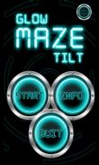 In addition to the game Demons land for Android phones and tablets, you can also download Glow Maze Tilt for free.