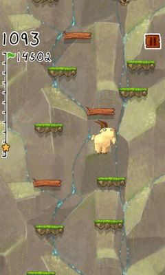 Screenshots of the Go Go Goat! for Android tablet, phone.