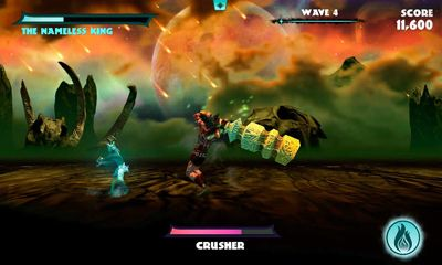 Screenshots of the God of Blades for Android tablet, phone.