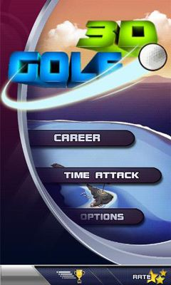 Screenshots of the Golf 3D for Android tablet, phone.