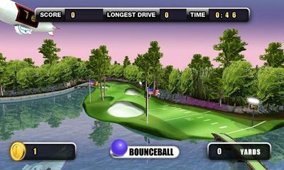 Screenshots of the Golf Battle 3D for Android tablet, phone.
