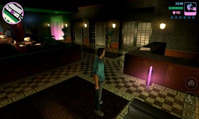 Screenshots of the Grand Theft Auto Vice City for Android tablet, phone.
