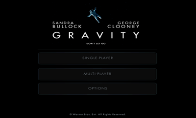 Screenshots of the Gravity: Don't Let Go for Android tablet, phone.