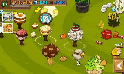 Screenshots of the Greedy grub for Android tablet, phone.
