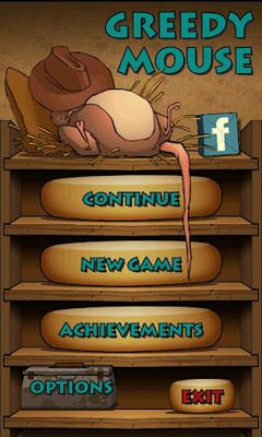 Screenshots of the Greedy Mouse for Android tablet, phone.