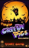In addition to the game  for Android phones and tablets, you can also download Greedy Pigs Halloween for free.