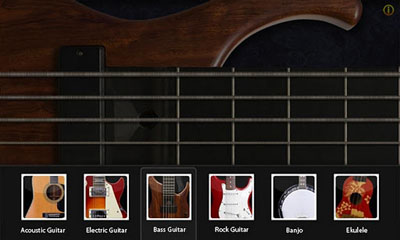Screenshots of the Guitar Star for Android tablet, phone.