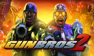 Screenshots of the Gun Bros 2 for Android tablet, phone.