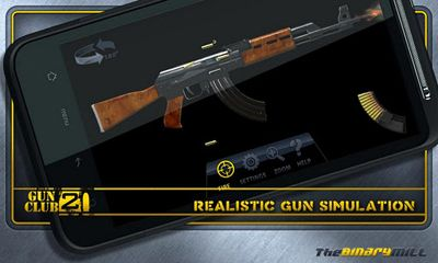 Screenshots of the Gun Club 2 for Android tablet, phone.