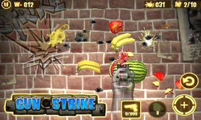 Screenshots of the Gun Strike for Android tablet, phone.